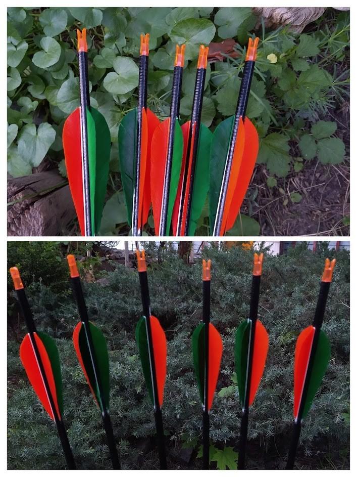 Стрела карбоновая для конной и скоростной стрельбы / Carbon arrow Horseback archery